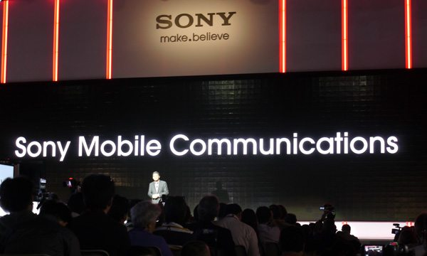 Sony Mobile CES 2013 coletiva de imprensa - live streaming