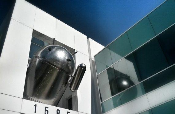 "Android Cromado - Android ""cromado"" aparece no campus do Google"