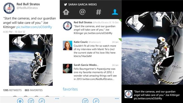 twitter para windows phone é atualizado - Twitter recebe grande atualização para Windows Phone