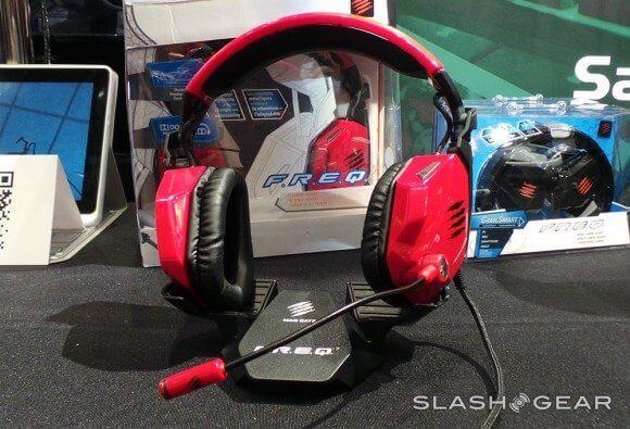 F.R.E.Q 7 - Mad Catz lança headset com som Dolby Surrond 7.1