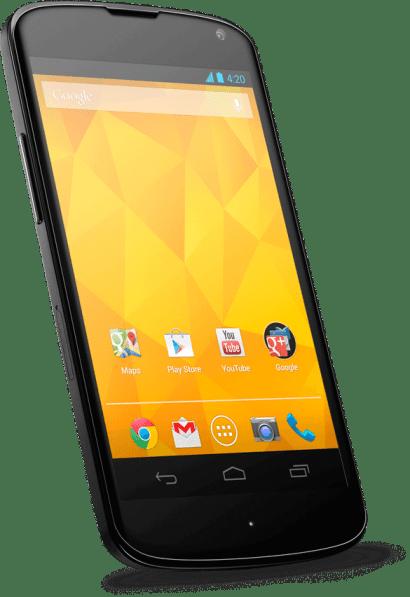 """Nexus 4: o smartphone Google / LG com Android """"puro"""""""
