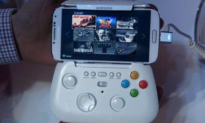dsc08035 - Samsung mostra protótipo de gamepad sem fio