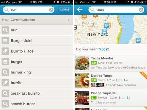 4sq 1 - Foursquare é atualizado com novo visual