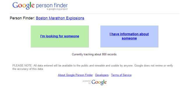 pray for boston google person finder informat L DQeGKc - Google Person Finder: um alento quando falta informação