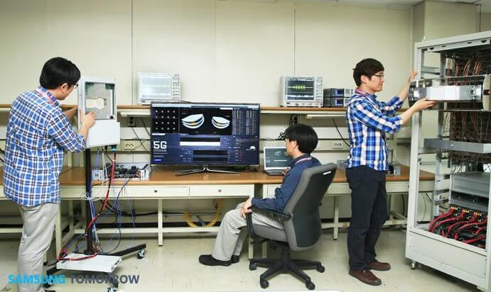 "Samsung 5G - Samsung apresenta primeiros testes da ""tecnologia 5G"""