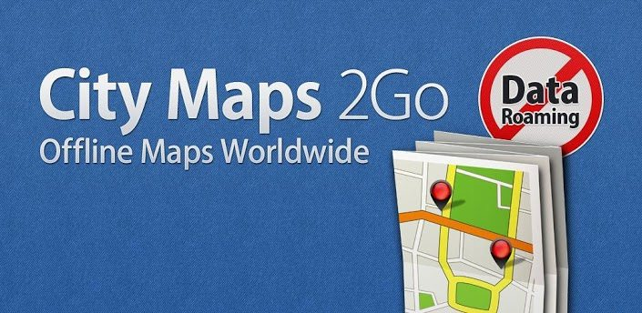City Maps 2Go - Apps favoritos do Leitor: Rafael Alexandre (iOS)