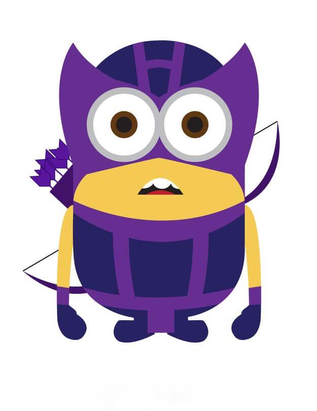 Minion Arrow - Minions ganham versões de super-heróis da Marvel e DC