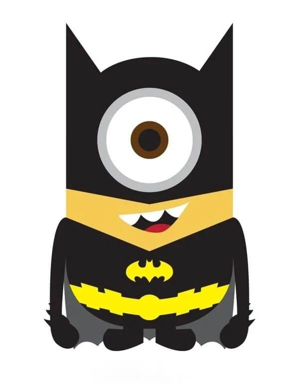 Minion Batman - Minions ganham versões de super-heróis da Marvel e DC