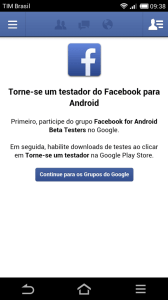 Screenshot 2013 07 26 09 38 15 168x300 - Facebook para Android convidando Beta Testers