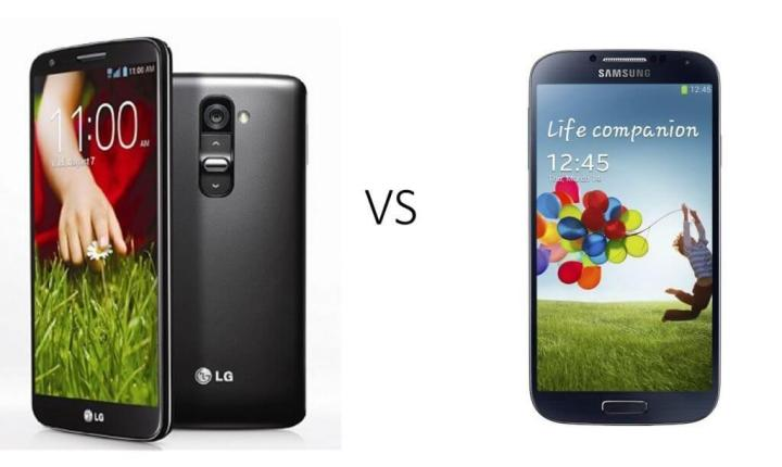 G2 vs S4 720x430 - Comparativo: LG G2 vs. Samsung Galaxy S4