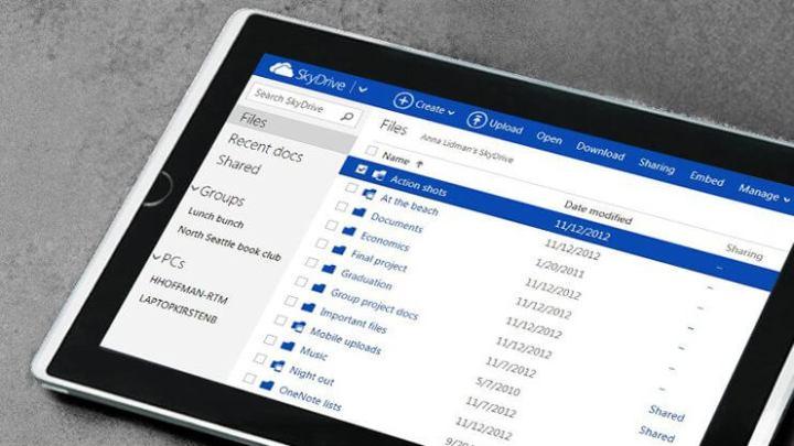 skydrive 720x405 - SkyDrive terá que mudar de nome, mas segue adicionando funções