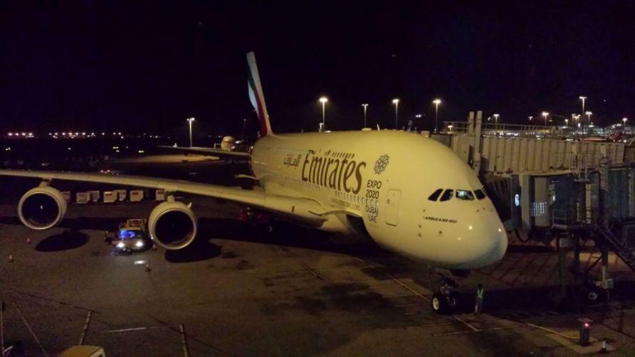 Airbus A380 no aeroporto de Hong Kong / foto: Henri Karam