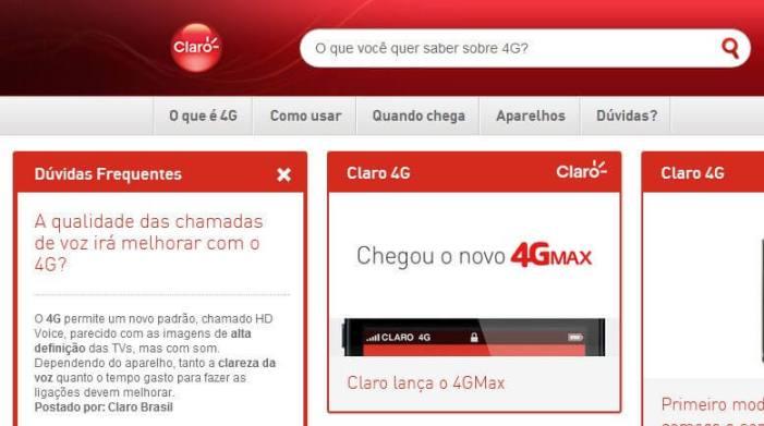 Claro VoLTE 4G Voz 2 - 4G no Brasil: o que as operadoras esquecem de te contar