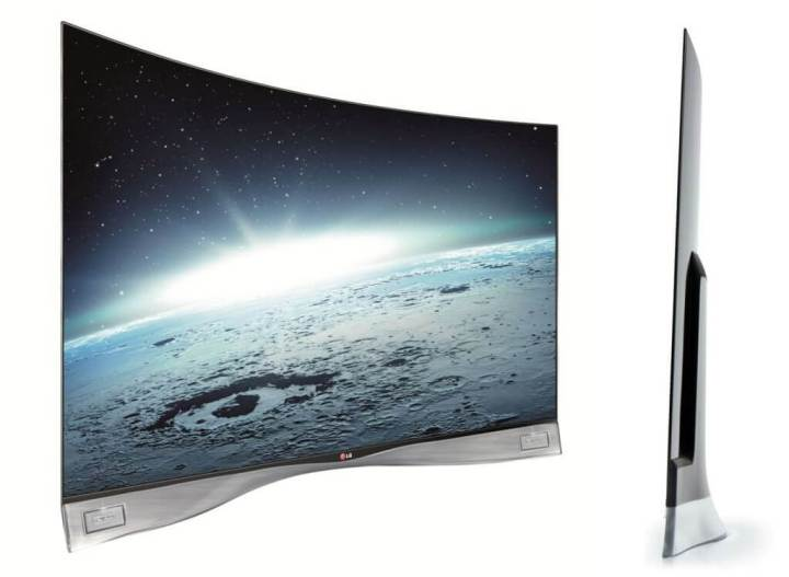 LG CURVED OLED 1 720x527 - LG lança a primeira TV OLED curva do mundo