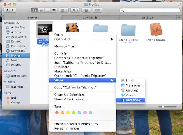 finder aba e video - OS X Mavericks: as novidades mais interessantes