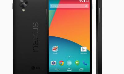 google nexus 5 1st official - Google inicia vendas do Nexus 5, primeiro smartphone com o Android 4.4 (Kitkat)