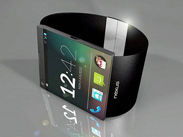 Nexus smartwatch relógio inteligente do Google
