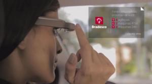 Bradesco google glass 300x167 - Bradesco lança aplicativo para Google Glass