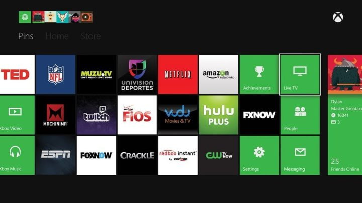 Pins US Multiple 3P 720x405 - Divulgados apps de TV e entretenimento para o Xbox One