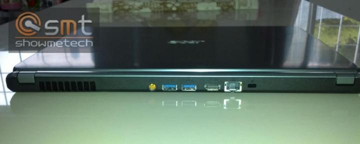 Review Acer M5 Touch - Portas USB e HDMI