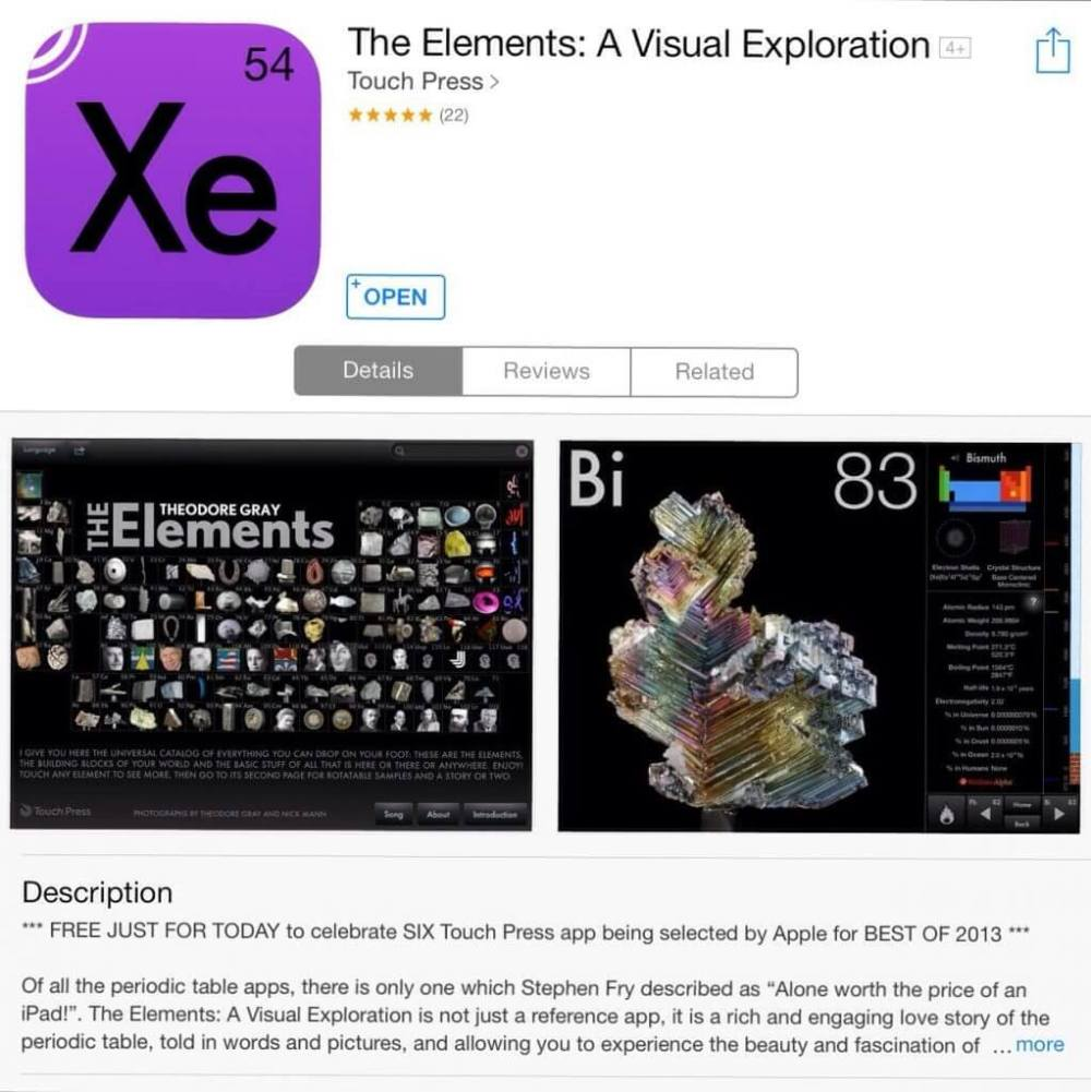 20131220 214823 - Oferta do dia - The Elements!