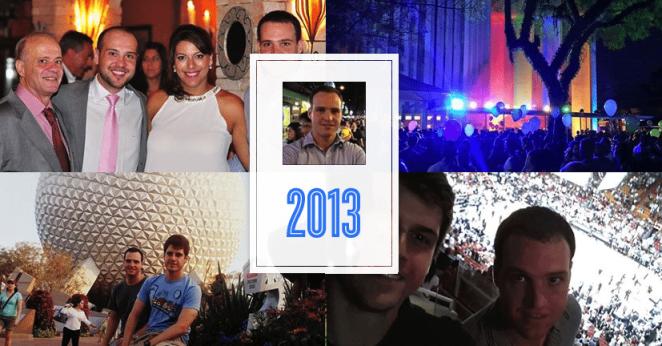 Retrospectiva do ano no Facebook