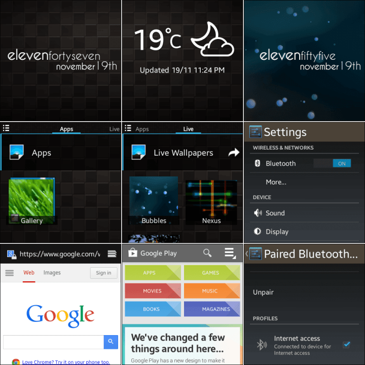 Galaxy Gear Null ROM 720x720 - Tutorial e teste: ROM Null para o Galaxy Gear smartwatch