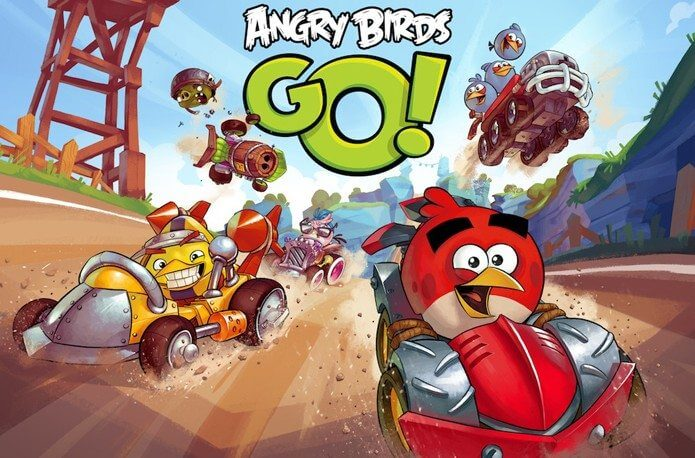 Angry Birds Go! Chega para o Android, iOS, Windows Phone e Blackberry