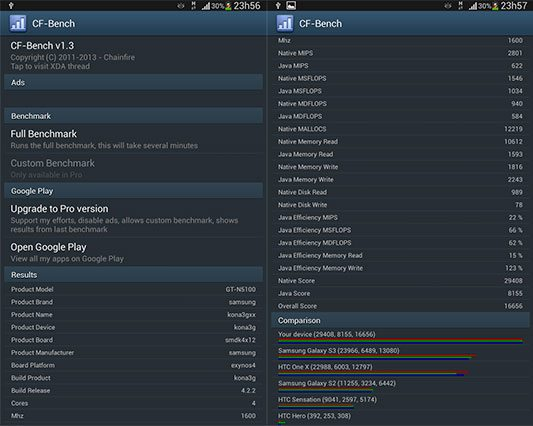 imagem note8 005 cf bench - Review: Samsung Galaxy Note 8.0 (GT-N5100)