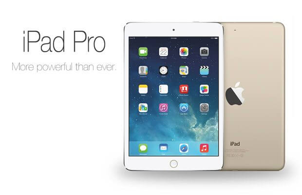 "ipad pro mockup - Novo iPad Pro poderá ter tela de 13"" com resolução 4K"