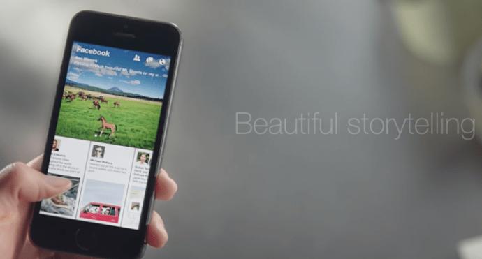 Captura de Tela 2014 01 31 às 20.58.02 720x388 - Facebook anuncia novo aplicativo, Paper, para iOS