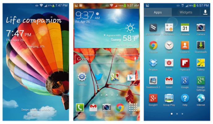 Samsung TouchWiz 2013 4 e1389178044255 720x421 - Imagens da nova interface TouchWiz da Samsung vazam na internet