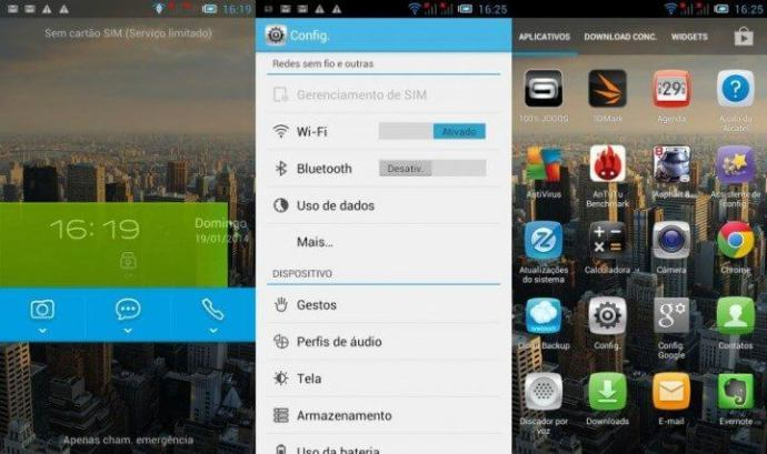 modificações no android1 720x427 - Review: Alcatel One Touch Idol