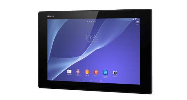 3 Xperia Z2 Tablet Black Front - Sony anuncia novos wearables, Xperia Z2, Z2 tablet e Xperia M2