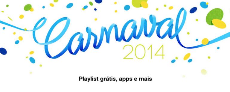 Captura de Tela 2014 02 27 às 08.47.49 - iTunes oferece conteúdo grátis neste carnaval