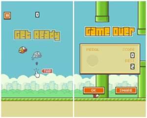 FlappyBird 1 300x241 - A incrível história de ascenção e queda do jogo Flappy Bird
