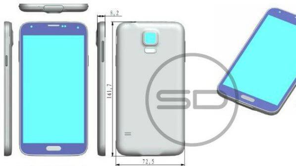 Imagem vazada na rede do Samsung Galaxy S5 - Samsung dá pistas sobre novidades do Galaxy S5