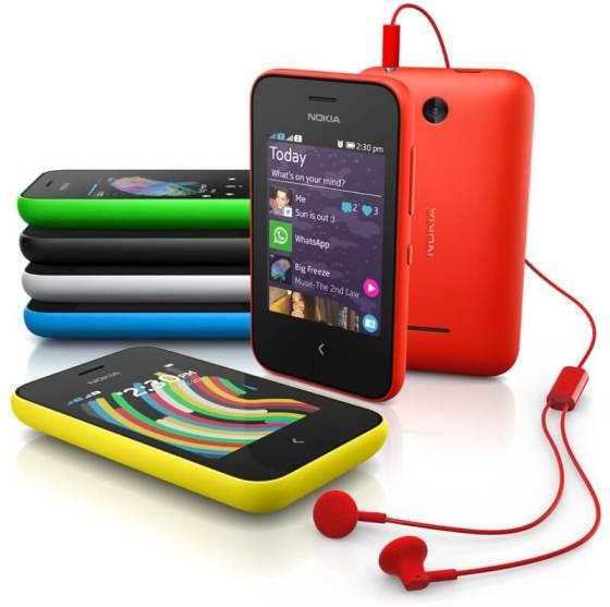 Nokia Asha 230 - Nokia lança celulares com internet por menos de R$ 100