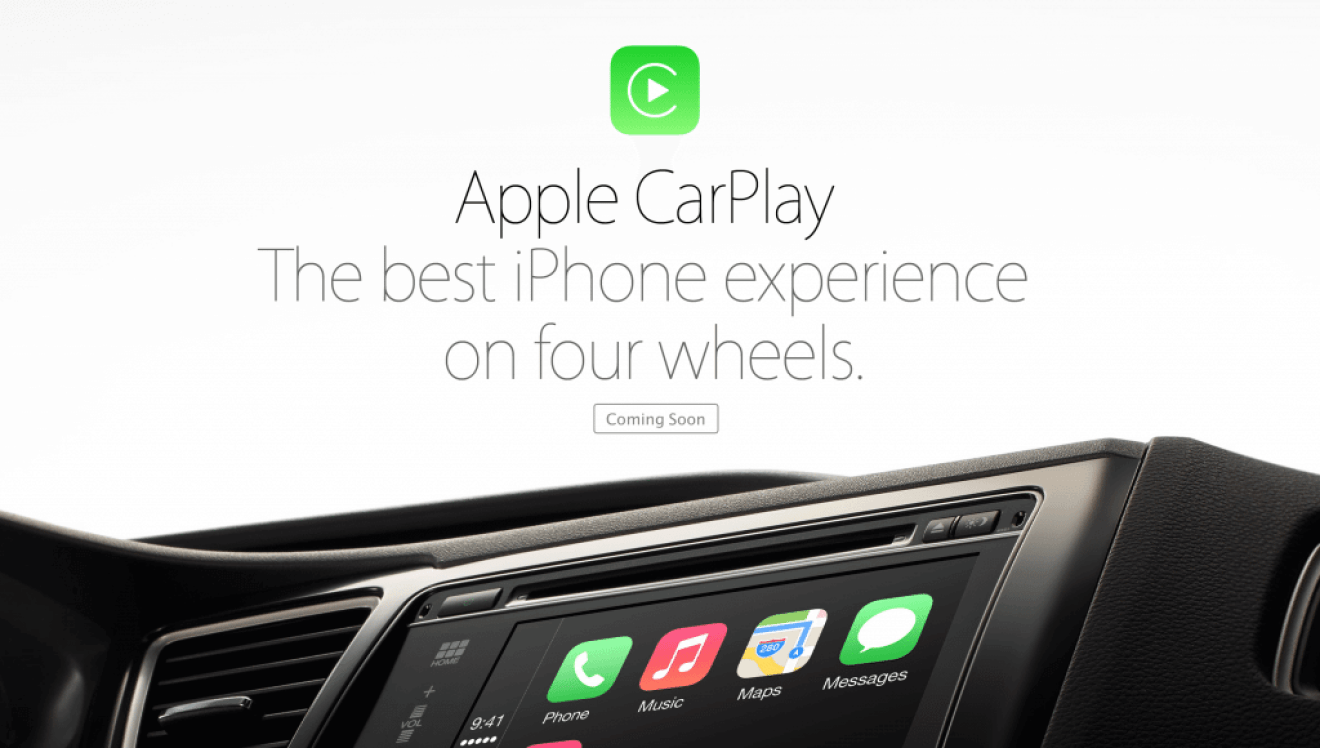 Apple CarPlay - Apple anuncia oficialmente o CarPlay, o iOS no seu carro