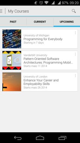 Coursera My Courses ShowMeTech 562x1000 - Coursera: aplicativo para Android oferece mais de 600 cursos de graça