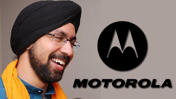 punit soni google - Motorola irá manter Android puro nos próximos dispositivos