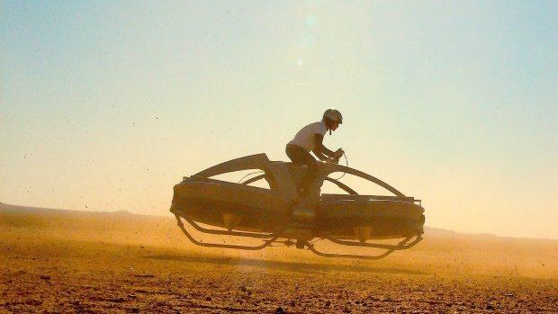 aerofex hover bike prototype - Hover-bikes: você já pode encomendar a sua!
