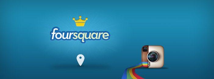 instagram facebook places foursquare
