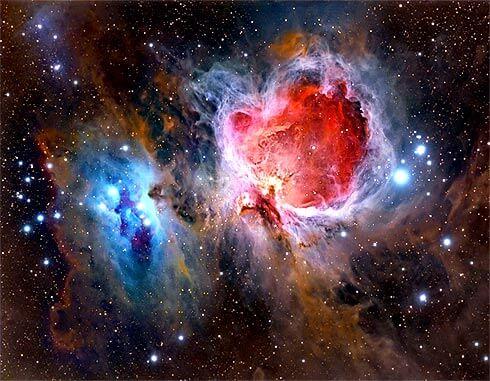 nebulosa de orion - Astrônomo Amador - Primeiros passos para se tornar um