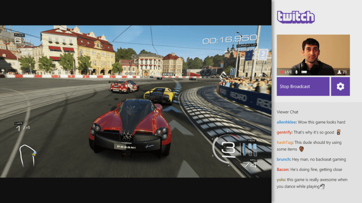 twitch broadcasting 720x405 - TOP 10 Apps incríveis para turbinar seu Windows Phone