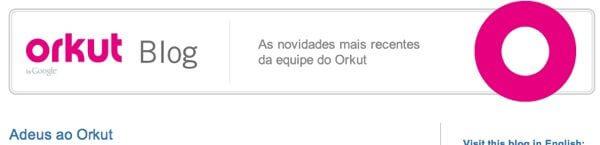 Adeus Orkut