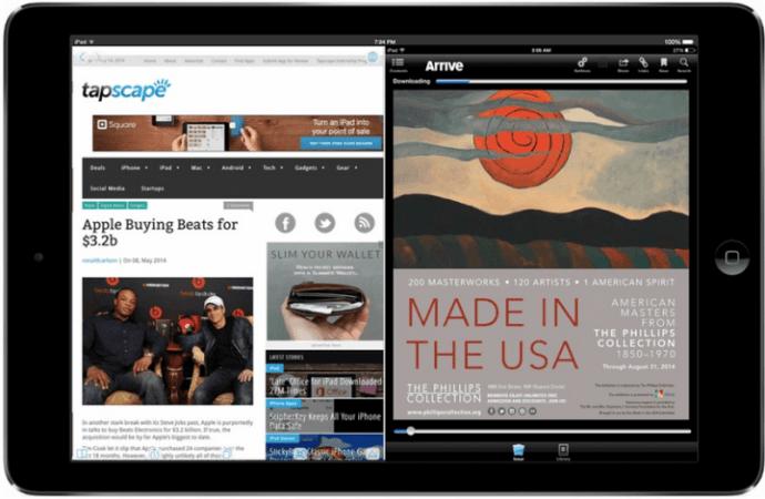 iOS 8 vai permitir uso de tela multitarefas / reprodução