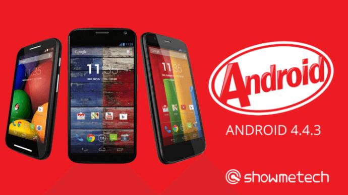 Família Moto Android 4.4.3 720x405 - Em tempo recorde: Moto G, Moto X e Moto E recebem o Android 4.4.3