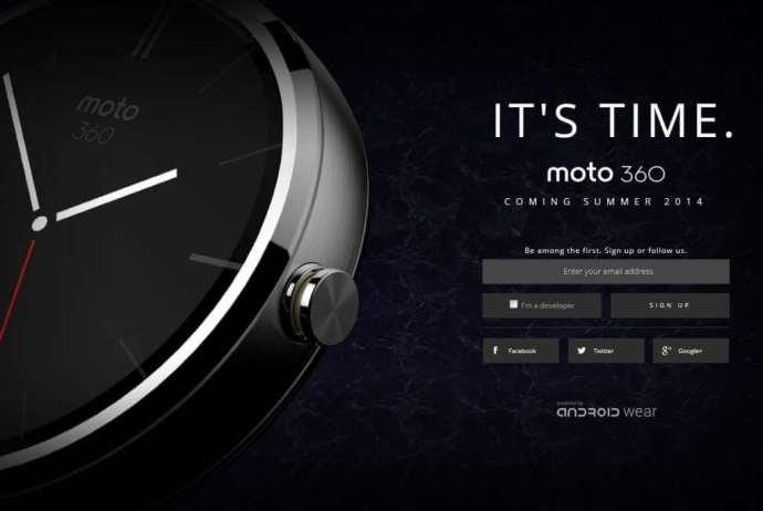 Moto 360 720x483 - Relógio inteligente Moto 360 chega até setembro