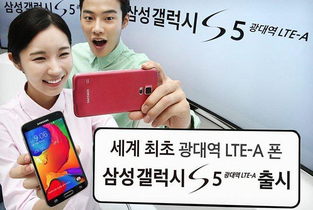 Samsung lança versão do Galaxy S5 com processador mais potente e tela de ultra resolução / reprodução